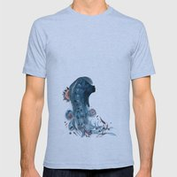 SPROUT AND THE BEAN Mens Fitted Tee Athletic Blue SMALL