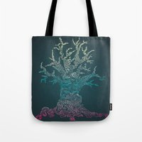 Trees of Neon Tote Bag