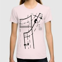Pattern Master Womens Fitted Tee Light Pink SMALL