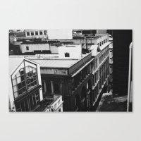 Grungey Melbourne  Canvas Print