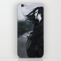 O mar eram nuvens iPhone & iPod Skin