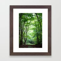 Lush Framed Art Print