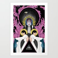 Universal Gleam Art Print