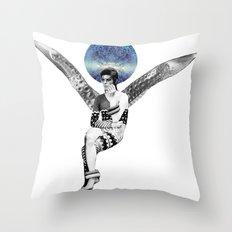 DAVID BOWIE ANGEL Throw Pillow