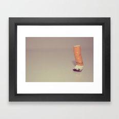 HABIT Framed Art Print