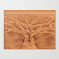 Paths like Branches Canvas Print
