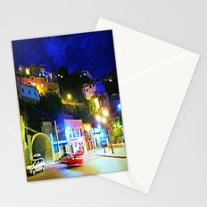 Guanajuato at night Stationery Cards
