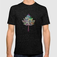 Like A Tree 2. Version Mens Fitted Tee Tri-Black SMALL