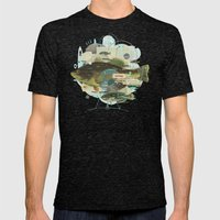 Cardume Mens Fitted Tee Tri-Black SMALL