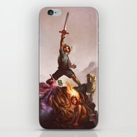 What time is it? iPhone & iPod Skin