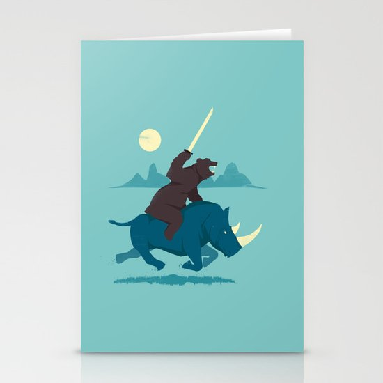 The Decider Stationery Card