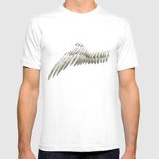 Wing White Mens Fitted Tee SMALL