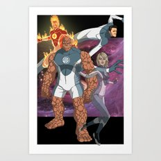 Fantastic Four: World's Greatest Heroes Art Print