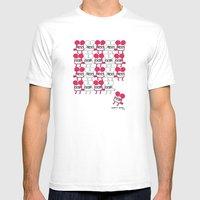 I Was Looking Back To Se… Mens Fitted Tee White SMALL