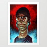 King of Horror Art Print