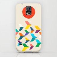 Great Bird Migration Galaxy S5 Slim Case
