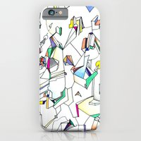 iPhone & iPod Case featuring Tumult by feliciadouglass