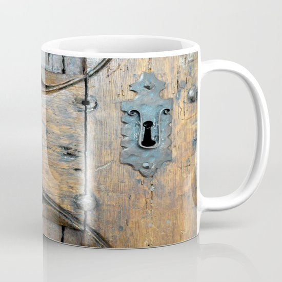 Church door Mug