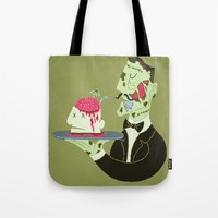 Brain Food Tote Bag