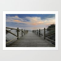 The path..., the beach II ....