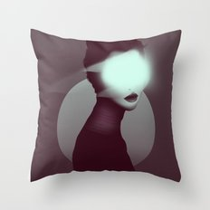 Bastet/Cat Goddess (Color Variant Version) Throw Pillow