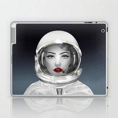Space Lady Laptop & iPad Skin