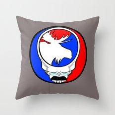 Ted Head     Theodore Roosevelt  Fan Art     Bull Moose Throw Pillow