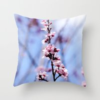 Signs Of Spring 1 Throw Pillow