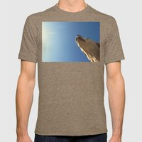 It's A Dog Day Mens Fitted Tee Tri-Coffee SMALL