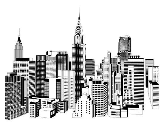 New York Black and White 2 Art Print