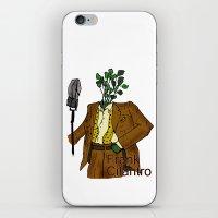 Frank Cilantro iPhone & iPod Skin