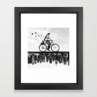 In Between Framed Art Print