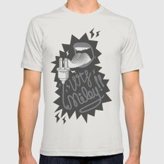 Enough Miley SMALL Silver Mens Fitted Tee