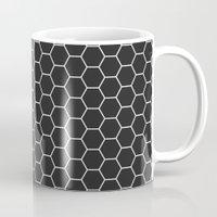 Black Hex Mug