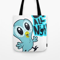 Up All Night!  Tote Bag