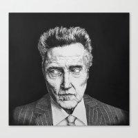Portrait Of Christopher … Canvas Print