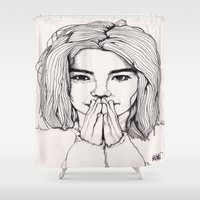 Bjork Shower Curtain