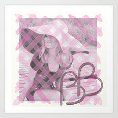 INITIALS B.B Art Print