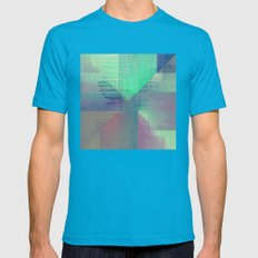 RAD XXXVIII Mens Fitted Tee Teal SMALL