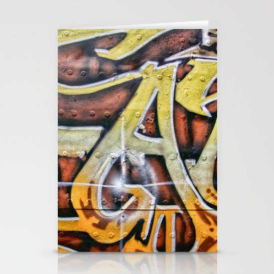 Graffiti Stationery Card