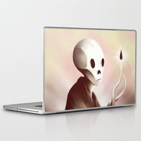 oil worshipper Laptop & iPad Skin