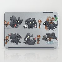 How Not to Train Your Dragon iPad Case