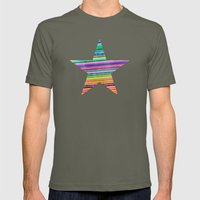 Stripes I Mens Fitted Tee Lieutenant SMALL
