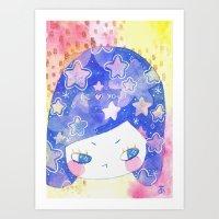 Cosmic Thoughts Art Print