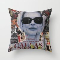 Dea Throw Pillow