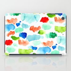 Watercolor Swatch Pattern iPad Case
