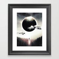 A Dream of Gravity Framed Art Print