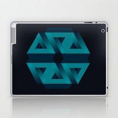 Impossible snowflake Laptop & iPad Skin