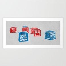Crates  Art Print