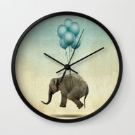 Dumbo Wall Clock